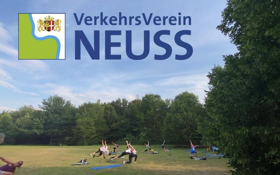 """Sport im Park Neuss"" – Barfußpfad"